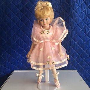 Ballerina Porcelain Doll - Avon Collection